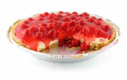piece of no bake cheesecake