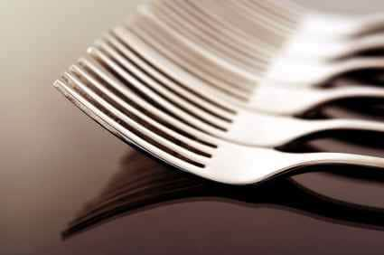 forks for a meal