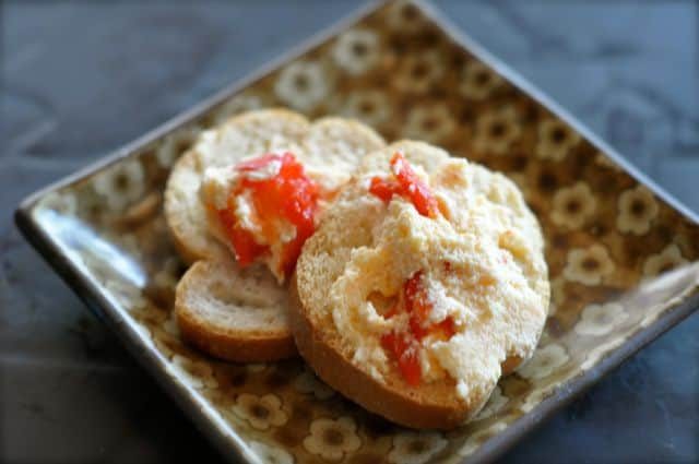 low calorie red pepper butter