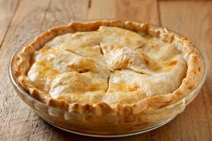 fake apple pie