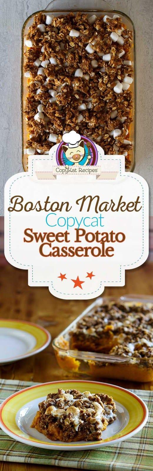 Boston Market Sweet Potato Casserole