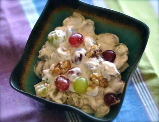 grape salad with walnuts