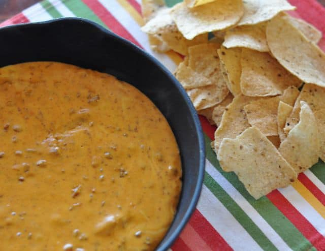 skillet queso from chilis