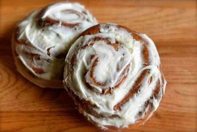 cinnamon rolls for the bread machine