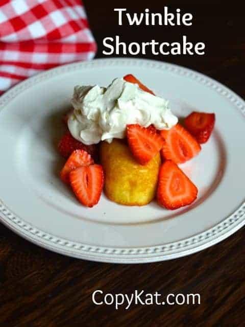 Strawberry Shortcake with Twinkies
