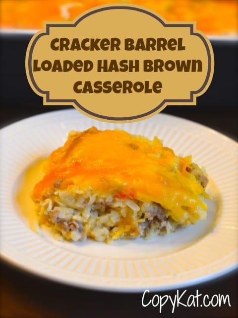 loaded hash brown casserole