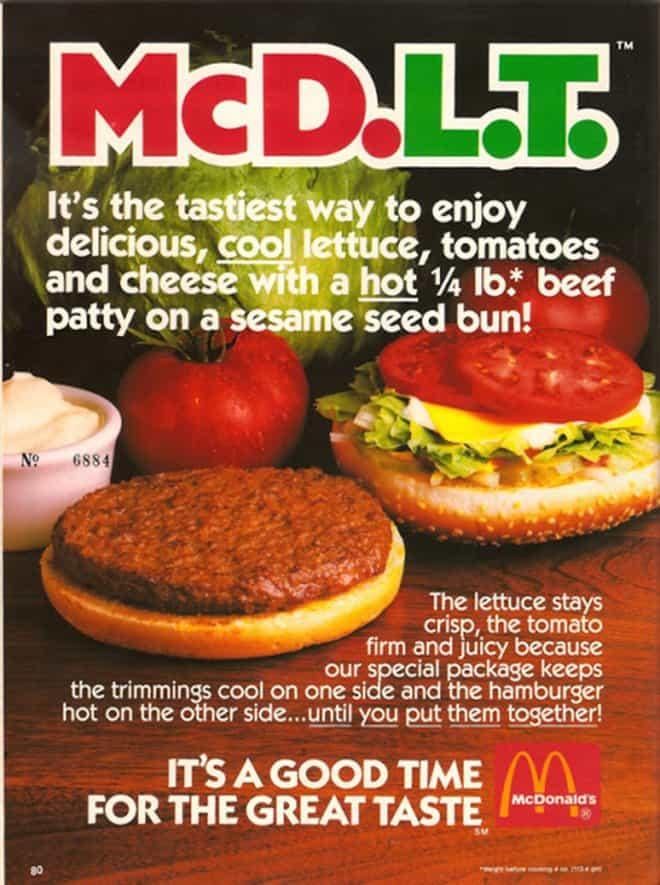 McDonald's McD.L.T.