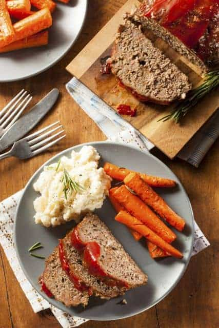 homemade meatloaf recipe from CopyKat.com