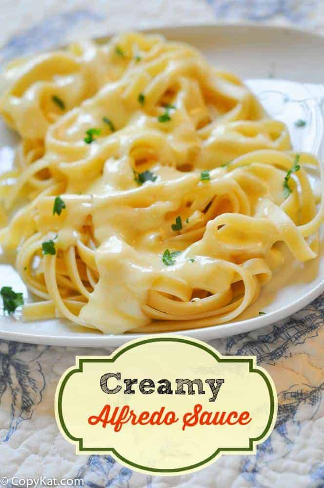 How to Make Creamy Alfredo Sauce from CopyKat.com, learn how to make Alfredo sauce with this recipe.