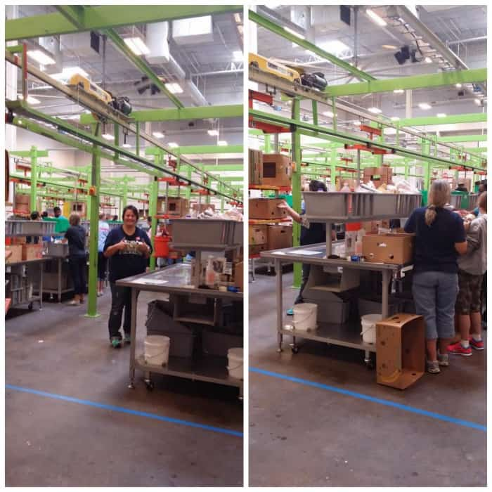 time at the Houston Food Bank