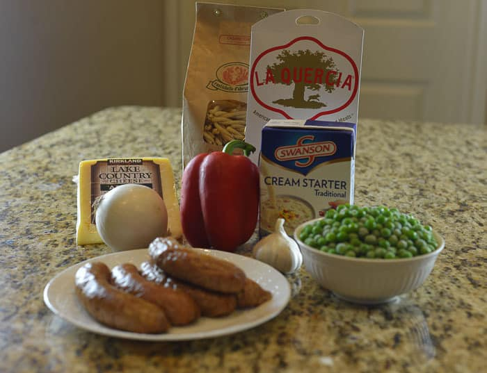 turkey pasta delight ingredients