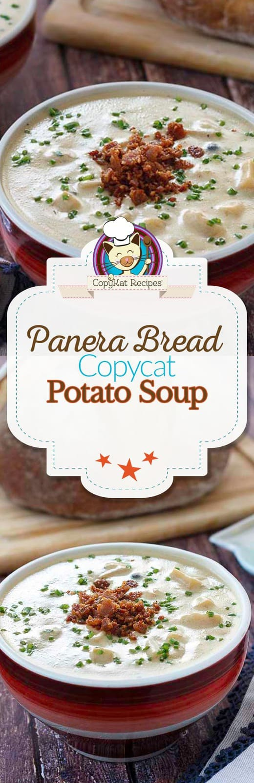 Copycat Panera Bread Baked Potato Soup