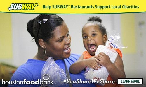 Subway You Share We Share