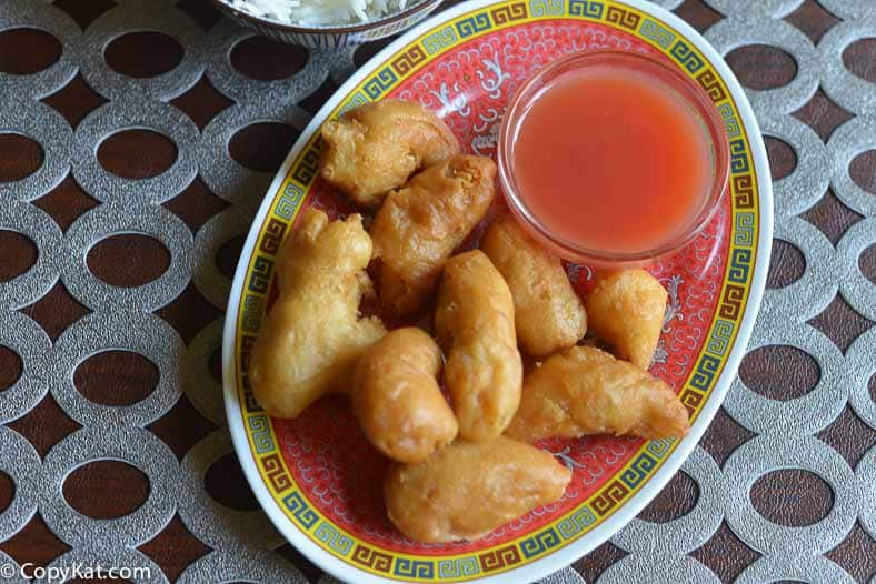 Authentic Chinese Restaurant Sweet And Sour Sauce
