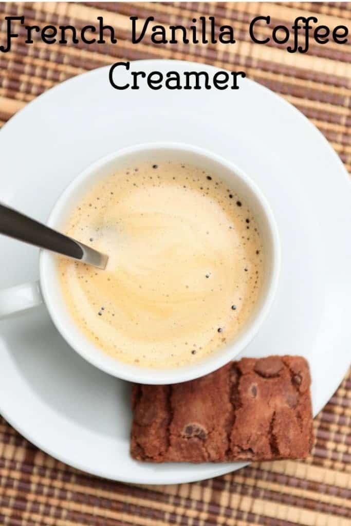 French Vanilla Coffee Creamer from CopyKat.com