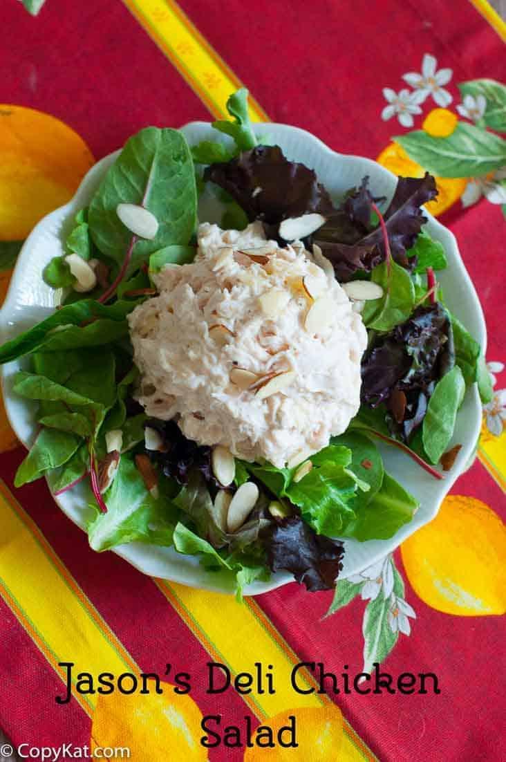 Make Jason's Deli Chicken Salad with this copycat recipe.