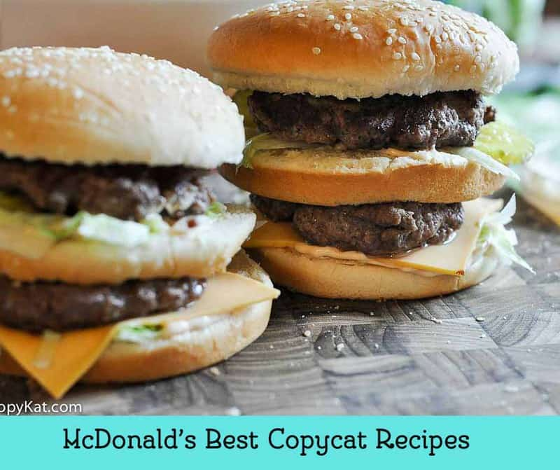 McDonald's Best Copycat Recipes