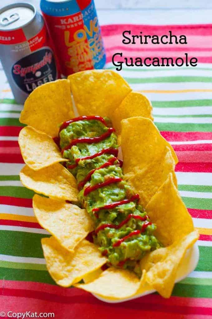 Sriracha Guacamole adds something special to ordinary Guacamole.