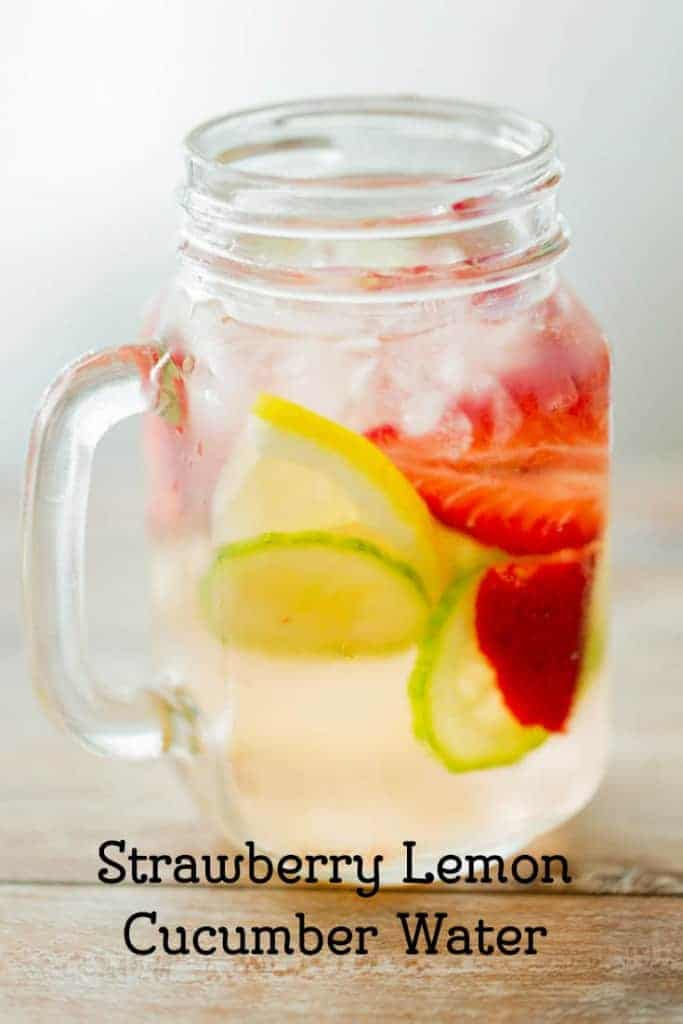 Strawbery Lemon Cucumber Water From CopyKat.com