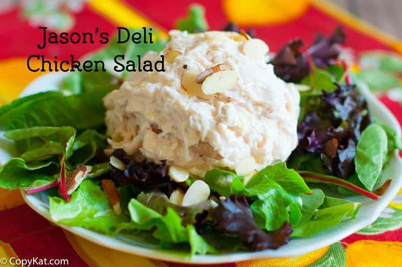 Make this delicious chicken salad just like Jason's deli