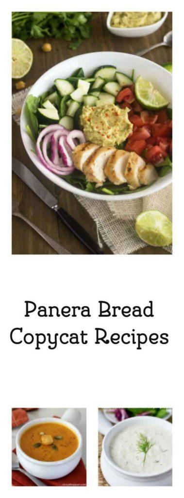Make your favorite Panera Bread Copycat Recipes