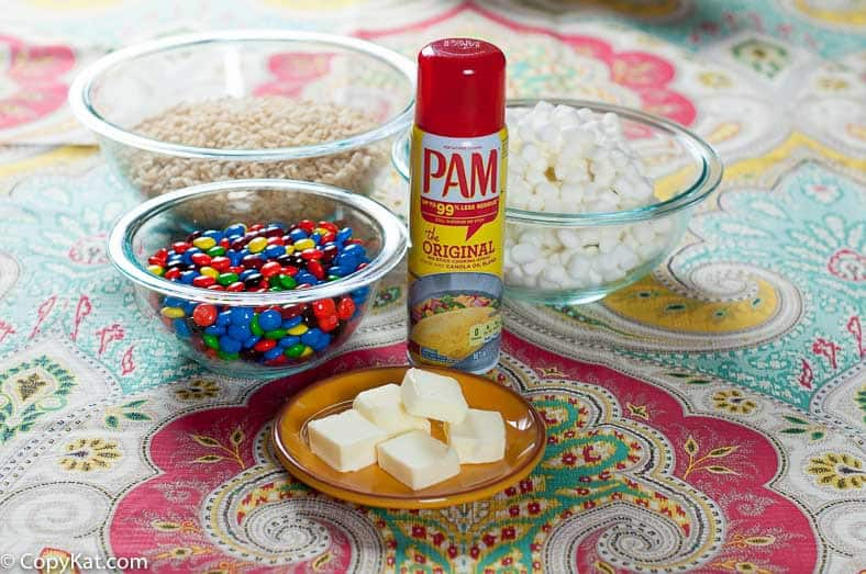 PAM Wide Shot Ingredients from CopyKat.com
