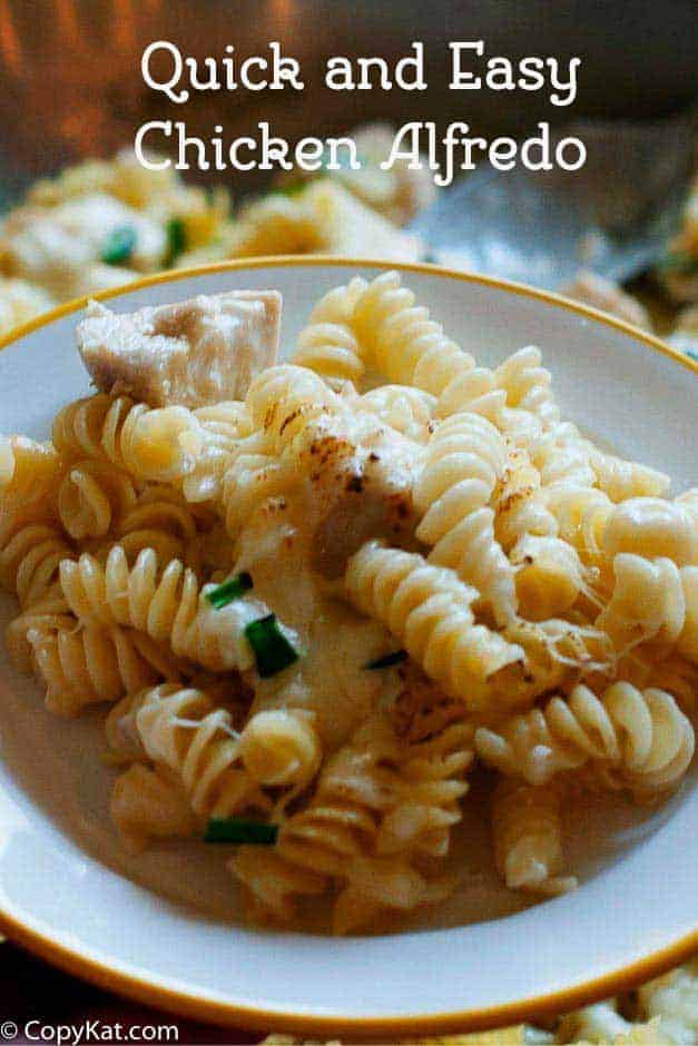 Make this quick and easy Chicken Alfredo in one pan.