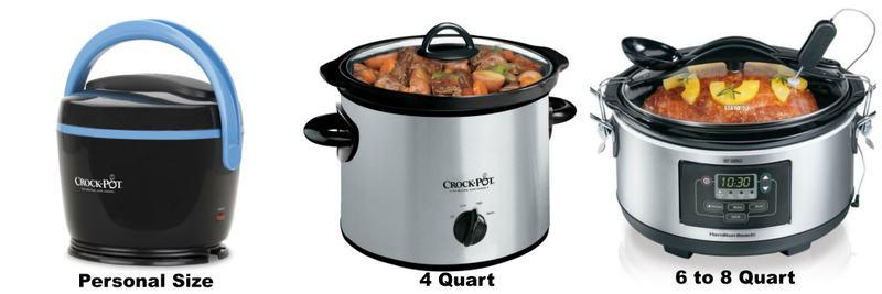 Sizes Available Crock Pot