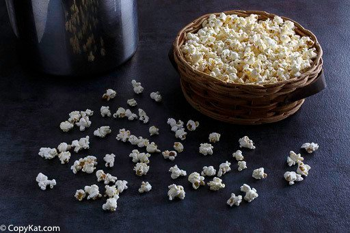 You can make kettle corn with this easy recipe.  You can make this at home.