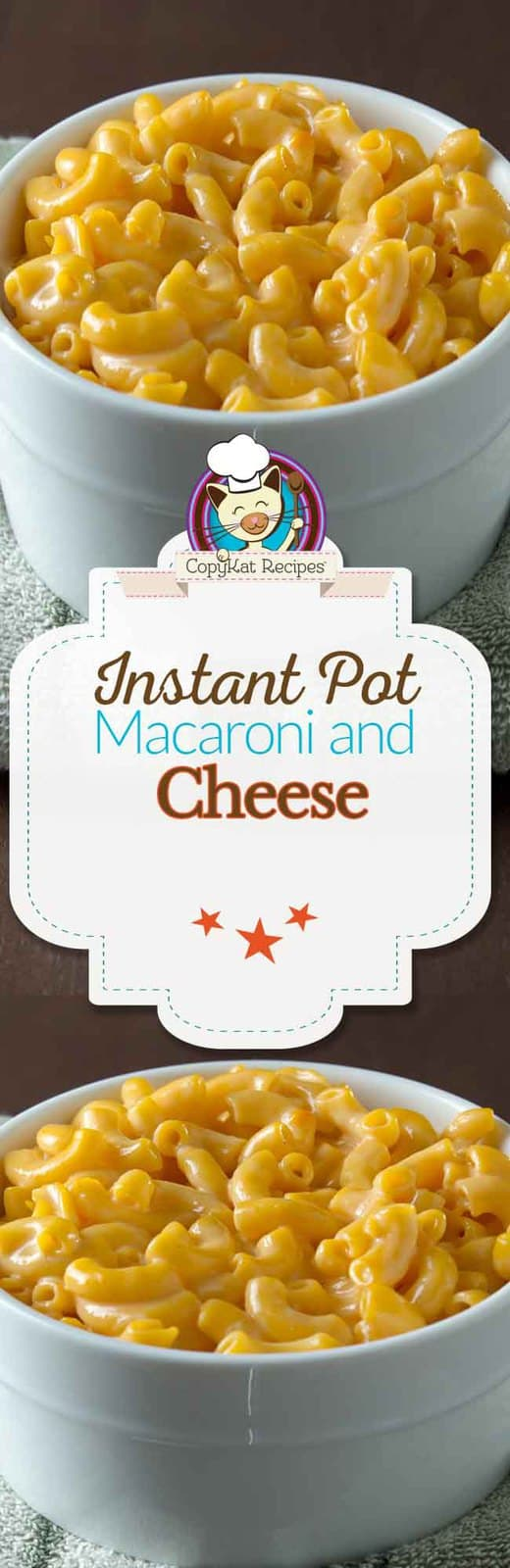 Instant Pot Macaroni and Cheese Long