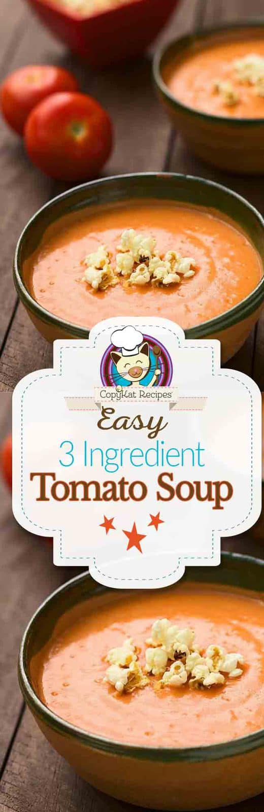 Easy 3 Ingredient Tomato Soup