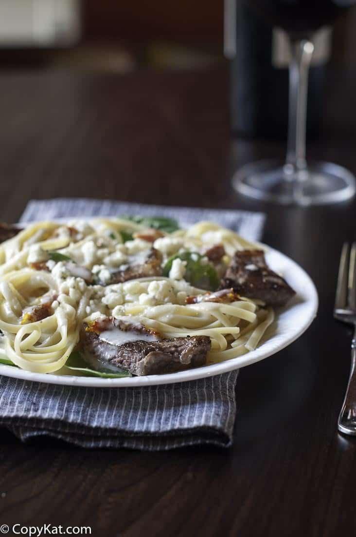 Try making the Olive Garden Steak Gorgonzola with easy copycat recipe.