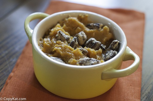 Make  Red Lobster Whipped Sweet Potatoes with Honey Roasted Pecans at home with this copycat recipe.
