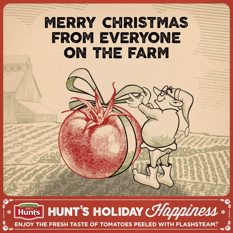 Merry Christmas from Hunts!