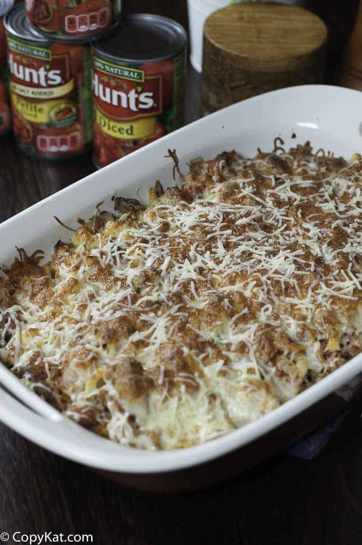 Try this delicious Ground Beef Casserole, it makes the perfect weeknight meal.