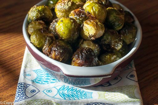 Enjoy this recreation of fresh petite roasted Brussel sprouts in a browned butter sauce.