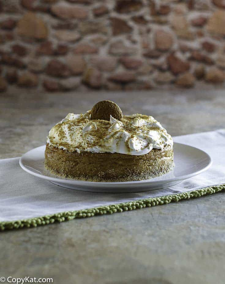 Make your own Olive Garden Pumpkin Cheesecake, this tastes just like it does in the restaurant.