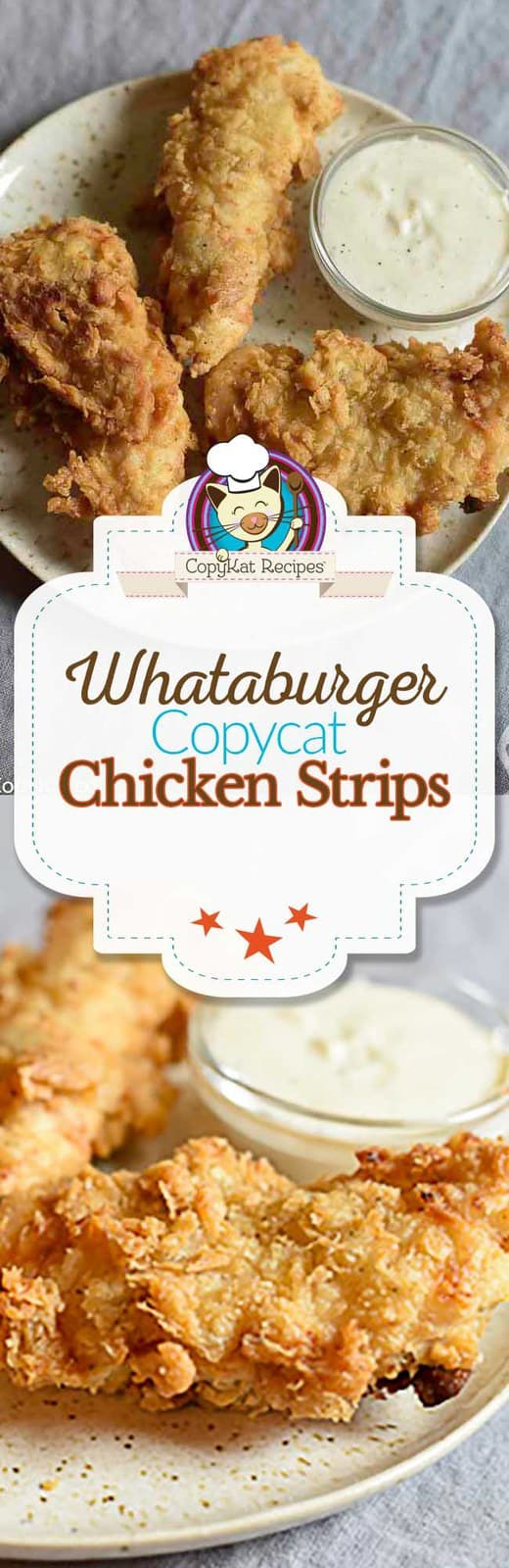 Make delicious chicken strips just like Whataburger does at home with this copycat recipe.