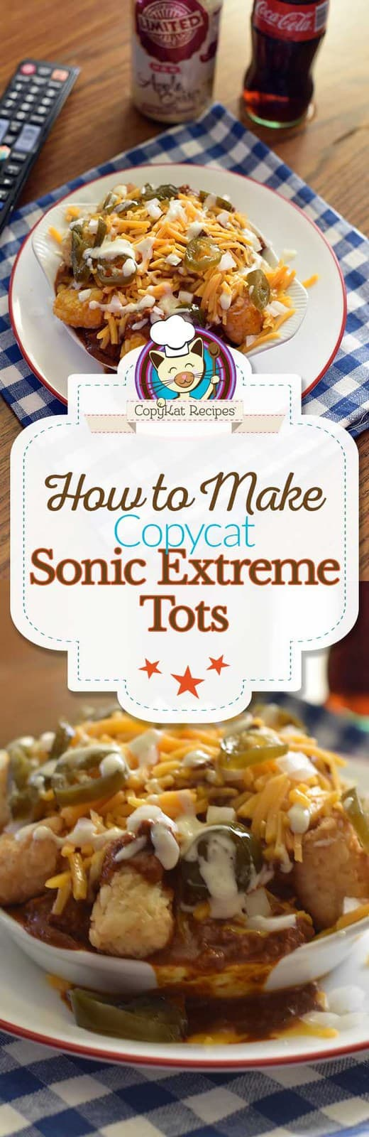 Make your next game or movie night fun when you serve up a platter of Sonic Extreme Tots!