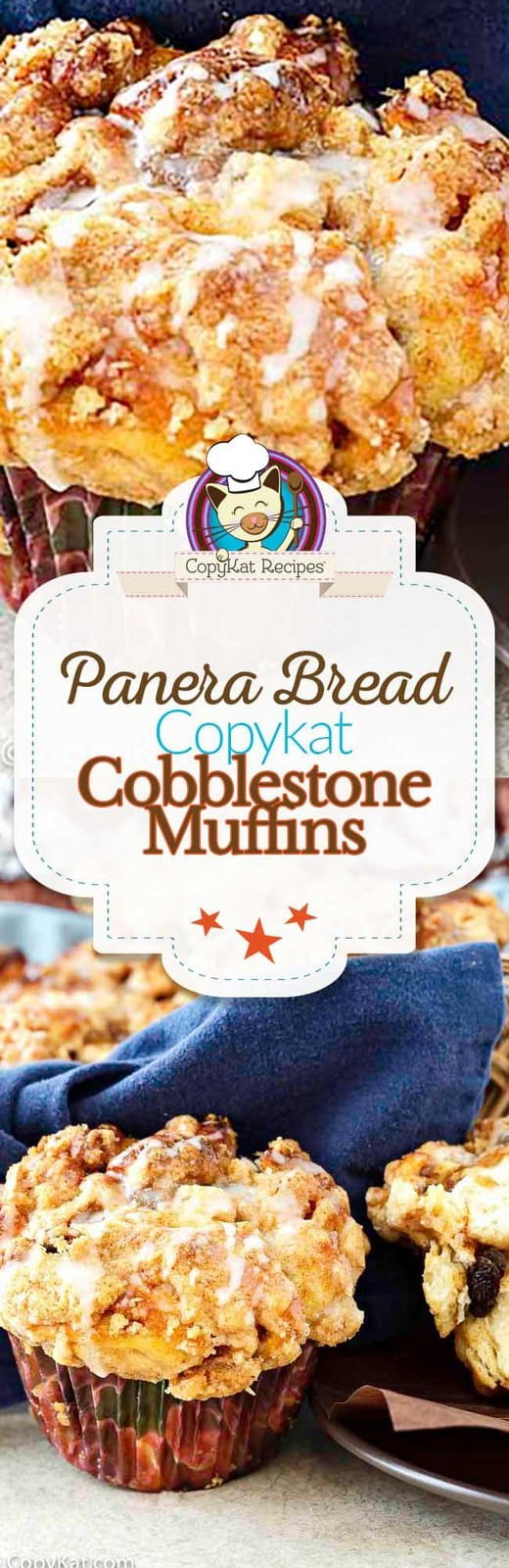 Recreate your own homemade Panera Bread Cobblestone muffins from scratch at home with this copycat recipe.