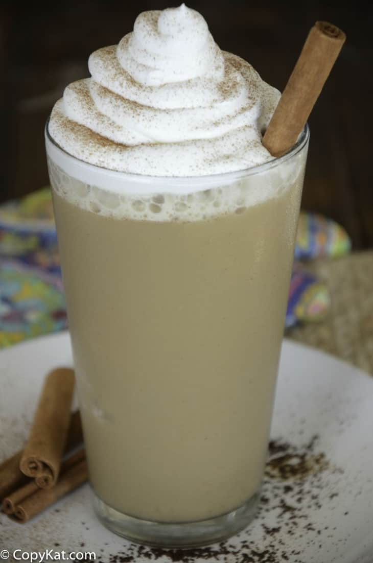 Recreate your own Starbucks Horchata Frappuccino at home with this copycat recipe.