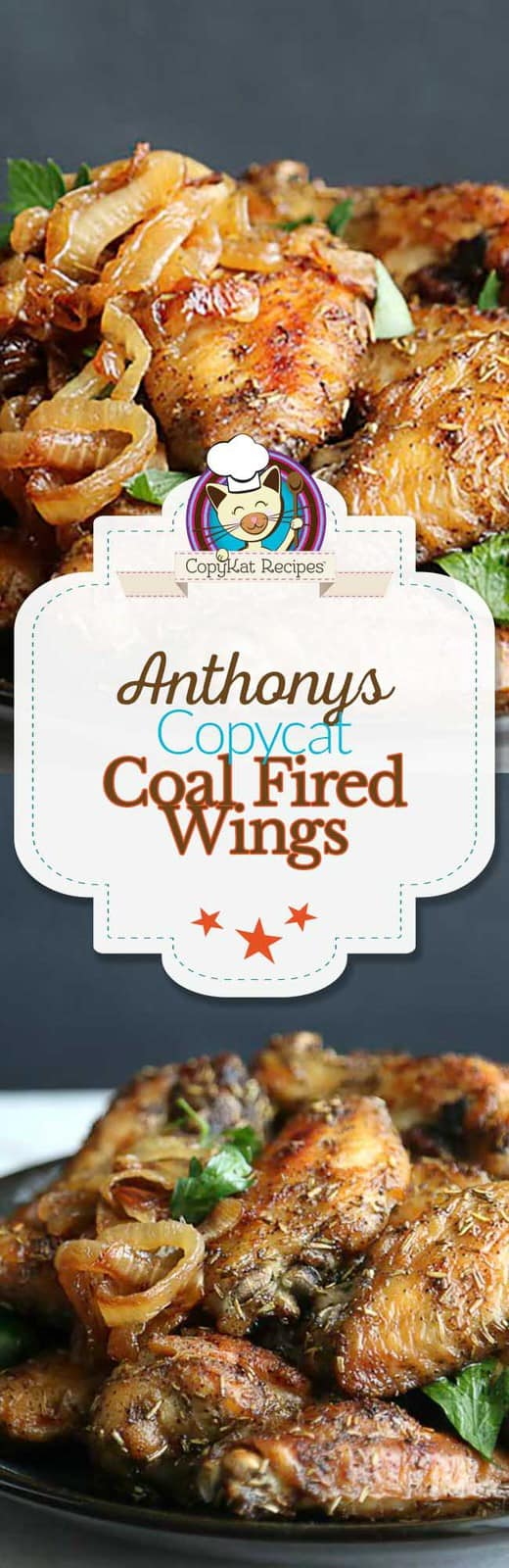 You can recreate the Anthony's Coal Fired Wings at home with this easy copycat recipe.