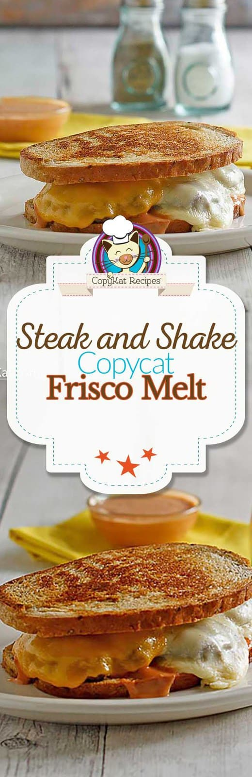 Recreate the Steak and Shake Frisco Melt at home with this copycat recipe.